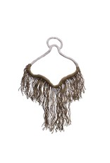 Entouquet Porcelain Hanger Piece with Jute Fringe