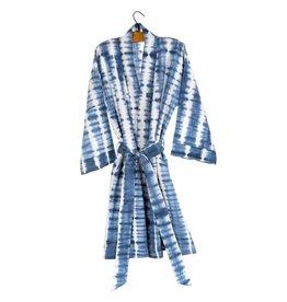 Indigo Shibori Robe