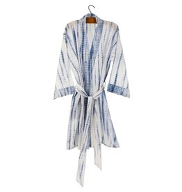 Indigo Shibori Robe - Light