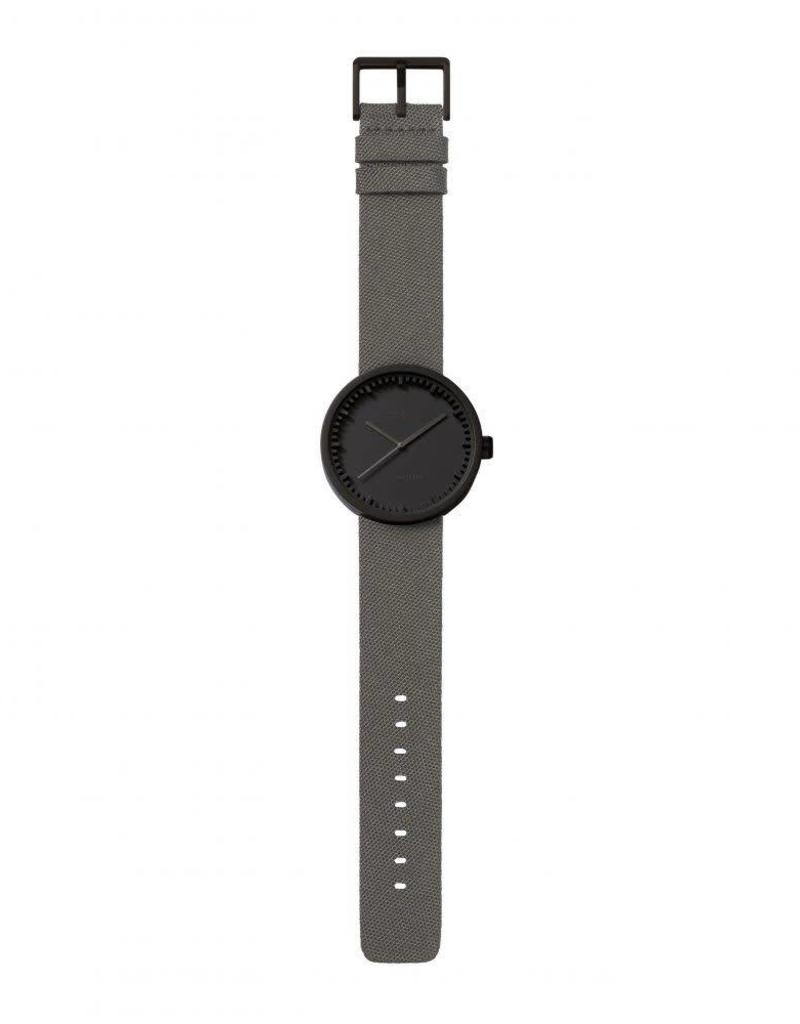Leff Amsterdam Tube Watch D Cordura - Black