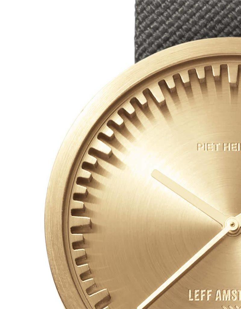 Leff Amsterdam Tube Watch D Cordura - Brass