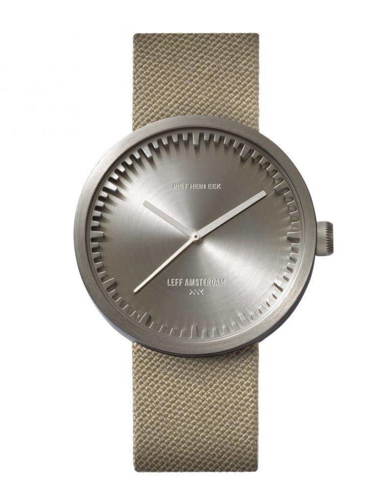 Leff Amsterdam Tube Watch D Cordura - Steel