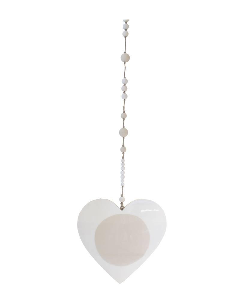 Entouquet Heart Hanging - Cream + Sand Dot