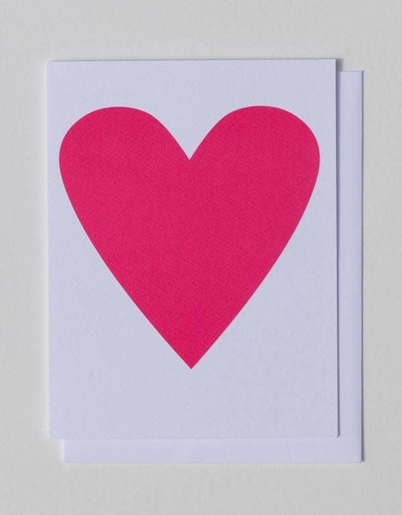 Banquet Atelier & Workshop Neon Heart - Note Card