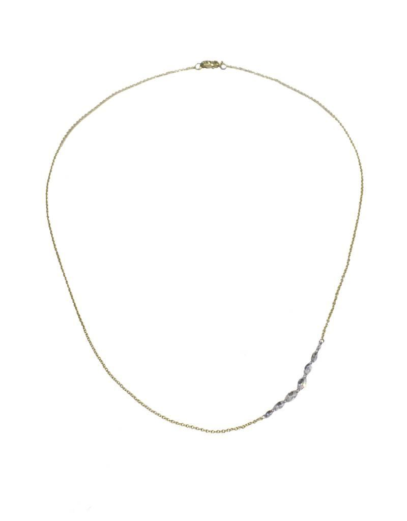 TAP by Todd Pownell Inverted Multiple Marquise Diamond Necklace