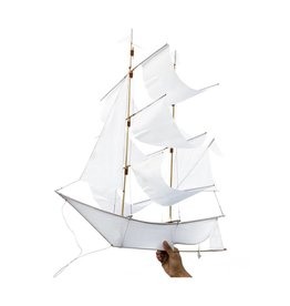 Haptic Lab Sailing Shit Kite - White