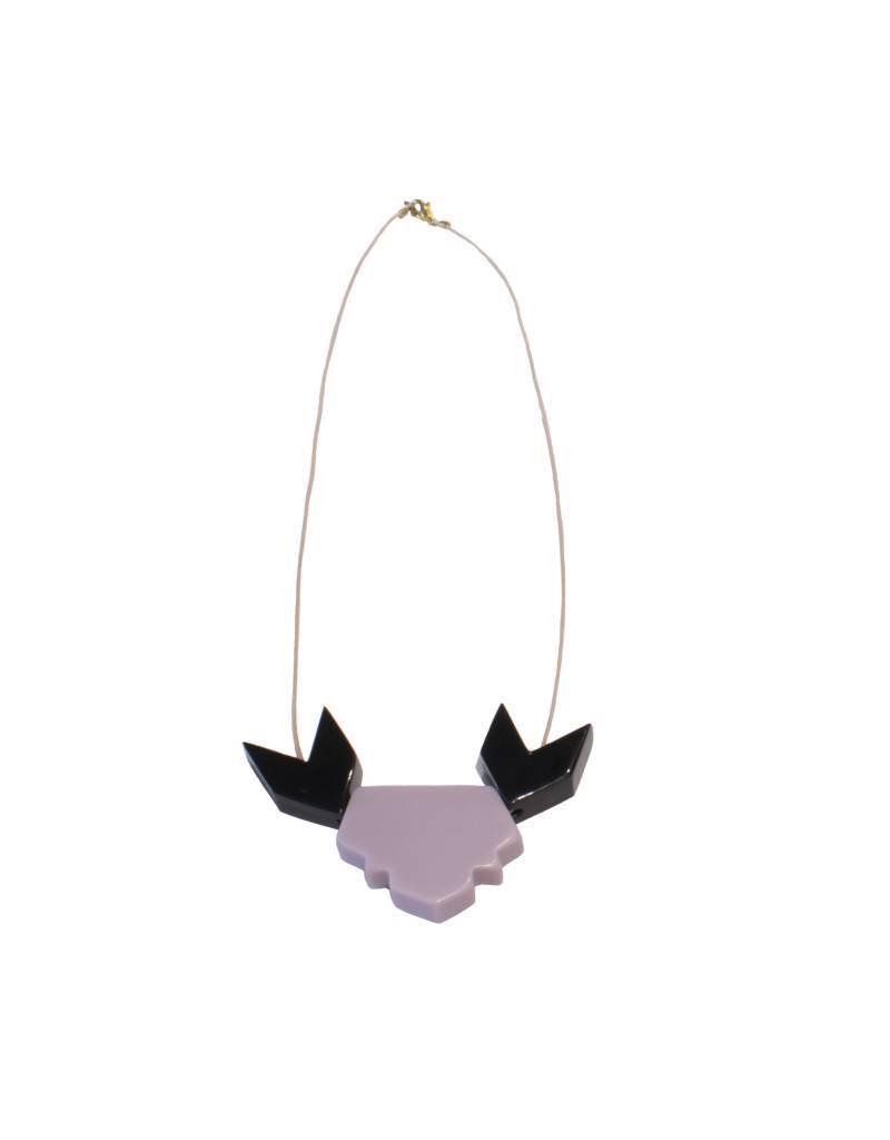 Bluma Project Taj Necklace - Lilac