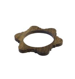 Bluma Project Arch Bangle - Wood