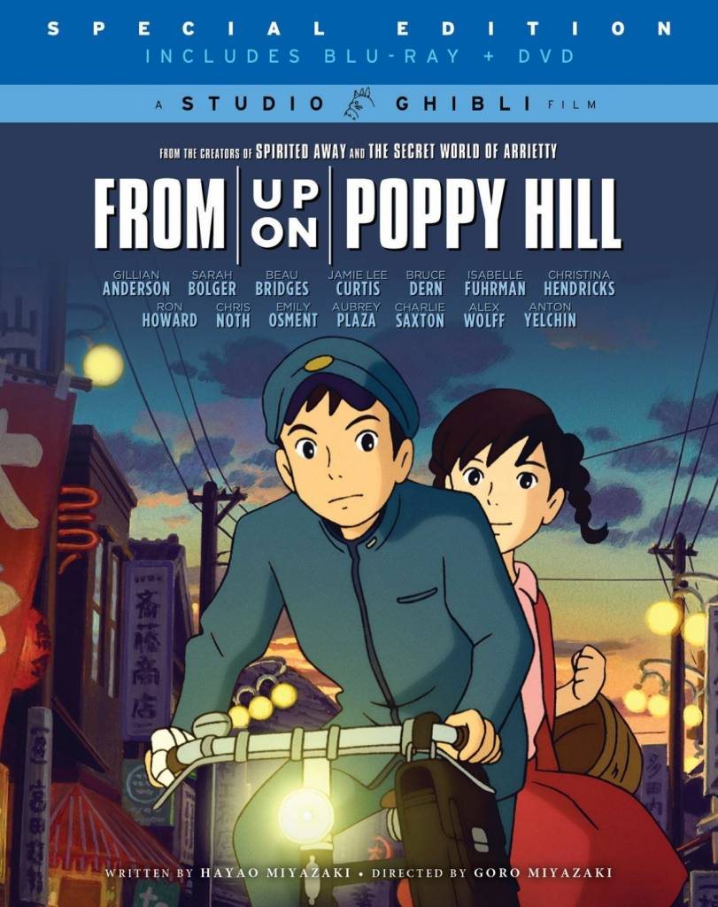 Studio Ghibli/GKids From Up on Poppy Hill Blu-Ray/DVD