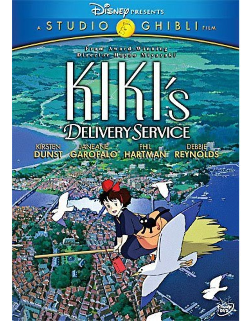 Studio Ghibli/GKids Kiki's Delivery Service DVD*