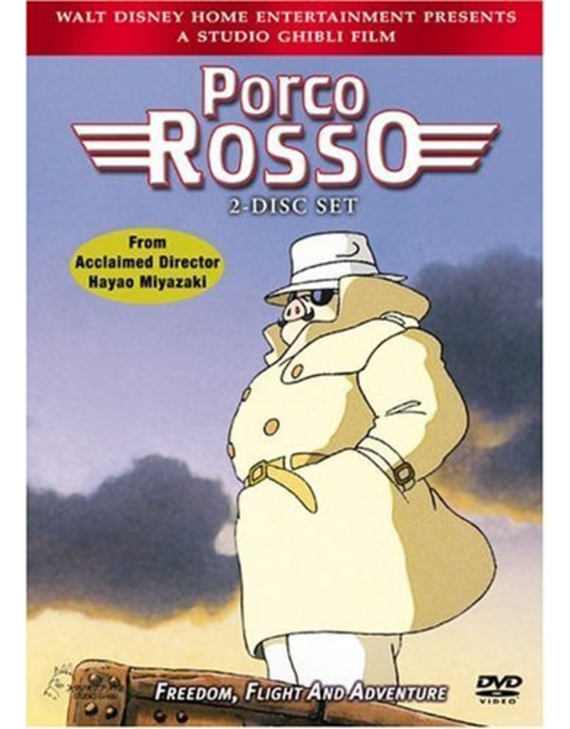 Studio Ghibli/GKids Porco Rosso DVD*