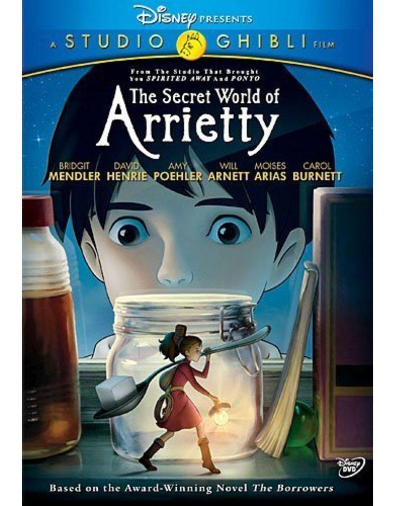 Studio Ghibli/GKids Secret World of Arrietty,The DVD*