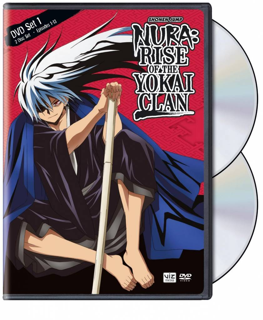 Viz Media Nura Rise of the Yokai Clan Set 1 DVD