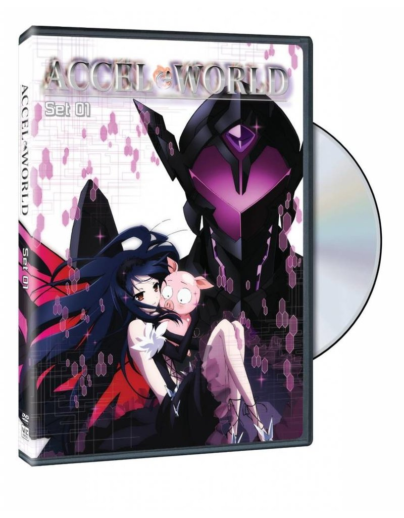 Viz Media Accel World DVD Set 01