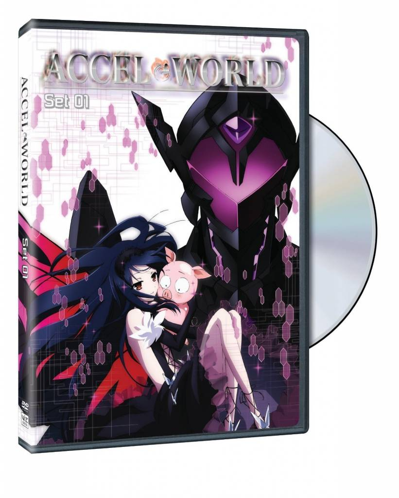 Viz Media Accel World DVD Set 01