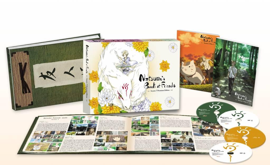 NIS America Natsume's Book of Friends Season 3 Premium Edition