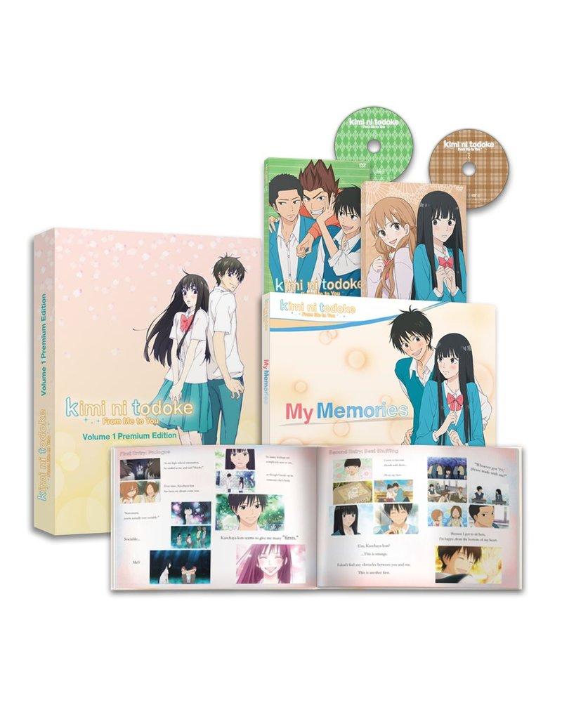 NIS America Kimi ni Todoke - From Me to You Vol 1 Premium Edition