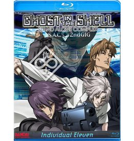 Manga Entertainment Ghost in the Shell - Individual Eleven Blu-Ray