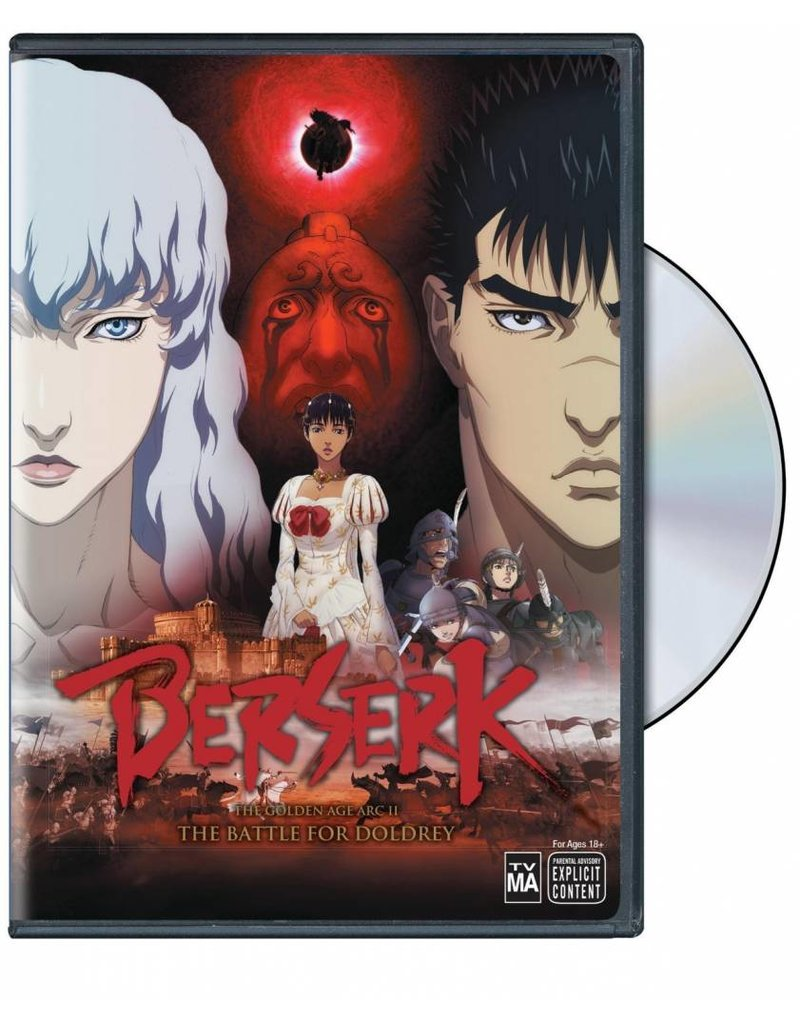 Viz Media Berserk the Golden Age Movie 2: The Battle for Doldrey DVD*