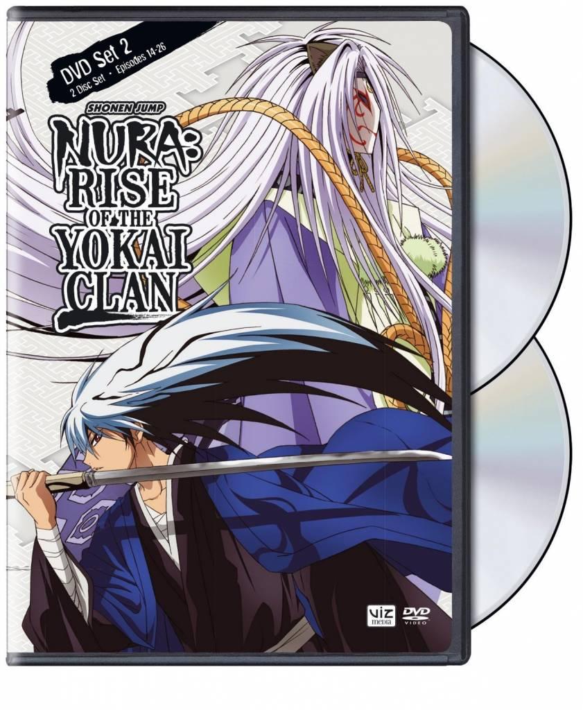 Viz Media Nura Rise of the Yokai Clan Set 2 DVD