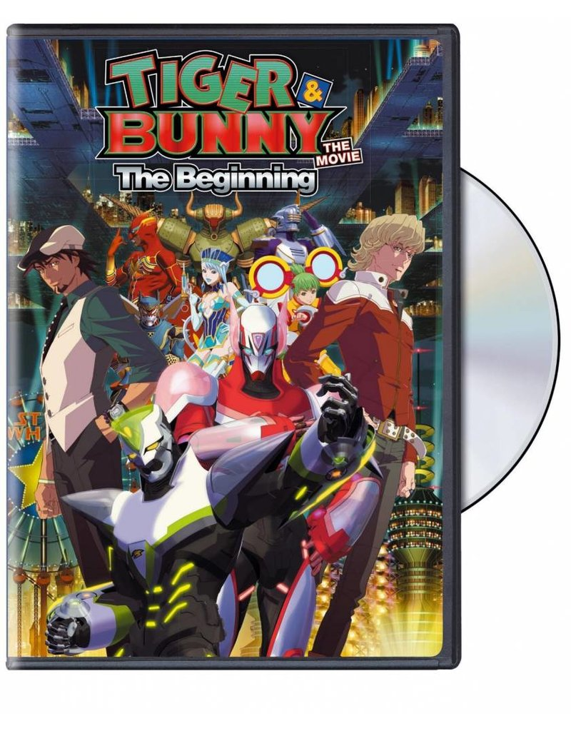 Viz Media Tiger & Bunny The Movie DVD