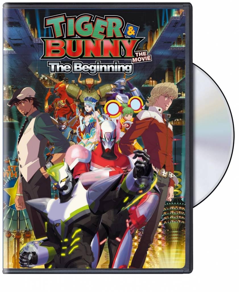 Viz Media Tiger & Bunny The Movie DVD