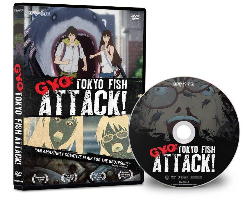 Aniplex of America Inc Gyo: Tokyo Fish Attack! DVD