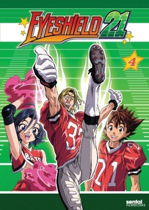 Sentai Filmworks Eyeshield 21 Collection 4 DVD