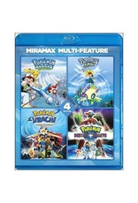 Viz Media Pokemon Movies: Collector's Set (Movies 4/5/6/7) Blu-Ray