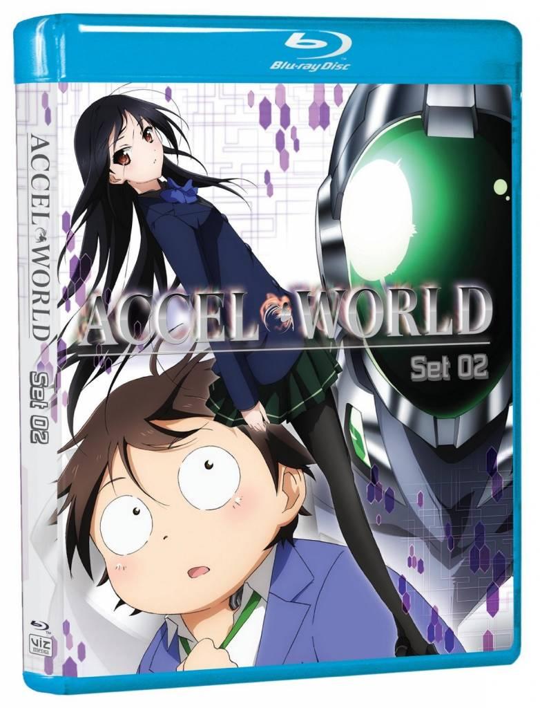 Viz Media Accel World Blu-Ray Set 02
