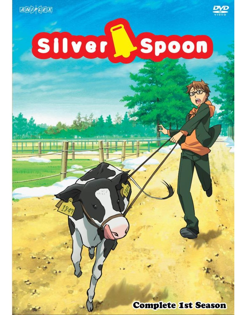 Aniplex of America Inc Silver Spoon Complete 1st Season DVD