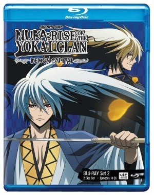 Viz Media Nura Rise of the Yokai Clan: Demon Capital Set 2 BD