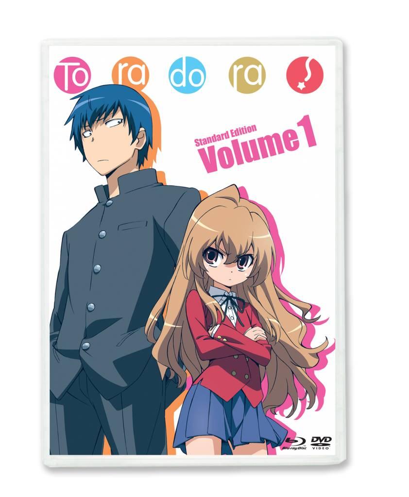 NIS America Toradora Blu-Ray/DVD Vol 1 Standard Edition (Dub)