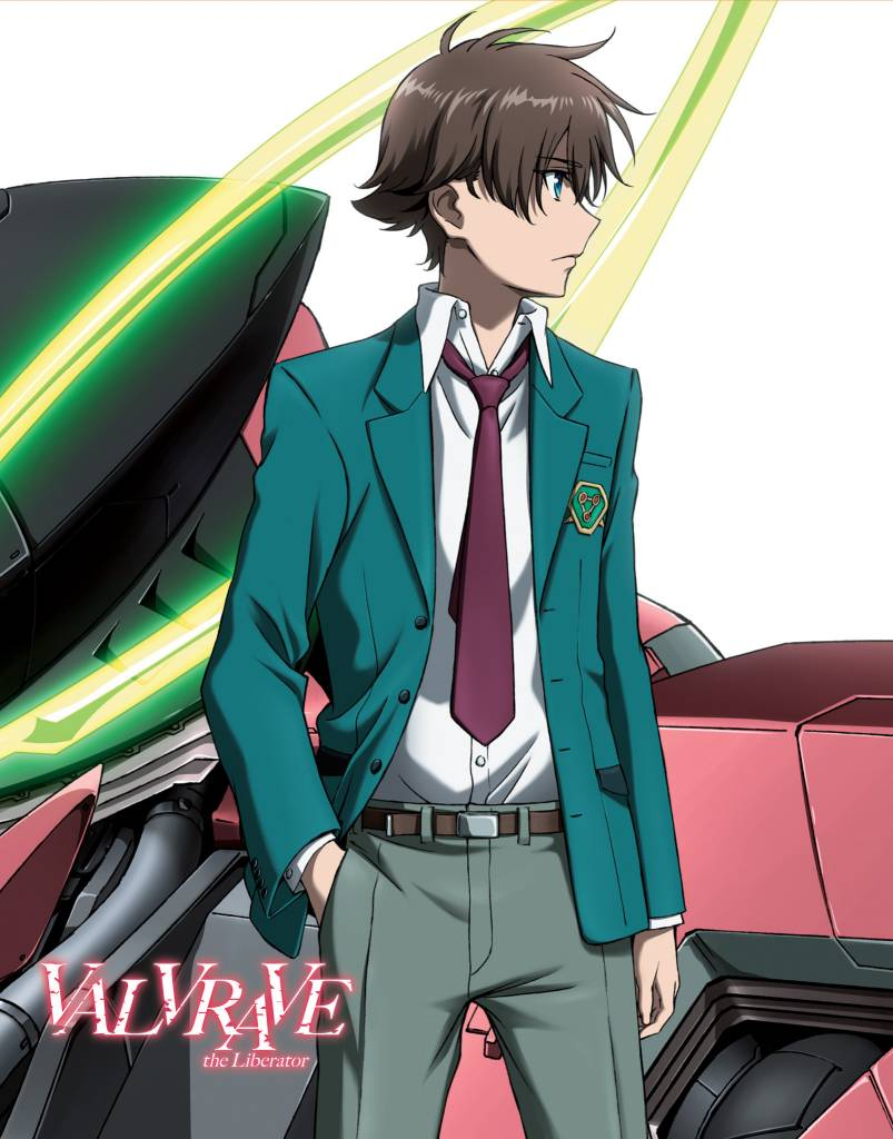 Aniplex of America Inc Valvrave the Liberator Complete 1st Season