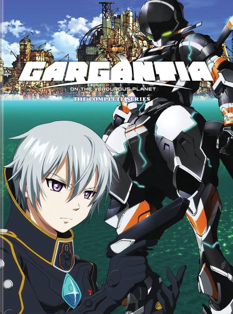Viz Media Gargantia on the Verduous Planet DVD