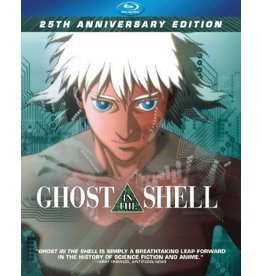 Manga Entertainment Ghost in the Shell 25th Anniversary Edition Blu-Ray