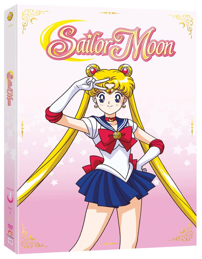 Viz Media Sailor Moon Season 1 Part 1 DVD