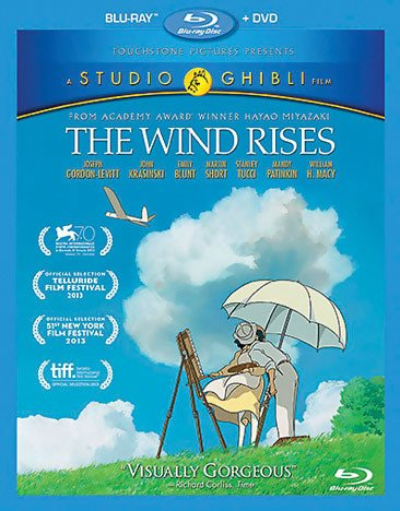 Studio Ghibli/GKids Wind Rises,The Blu-Ray/DVD