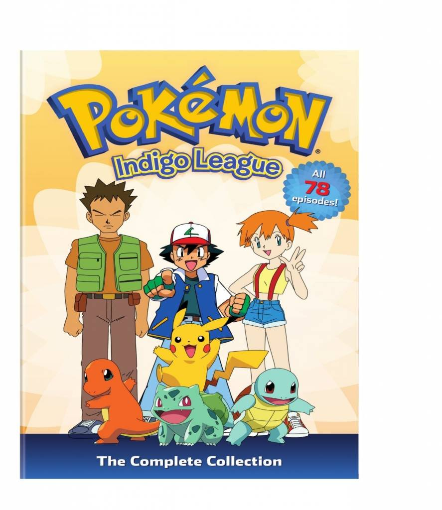 Viz Media Pokemon Indigo League Complete Collection (Season 1) DVD