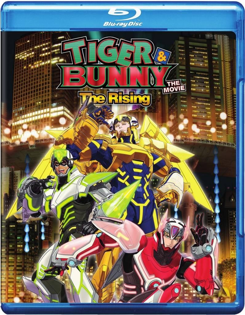 Viz Media Tiger & Bunny The Rising Movie Blu-Ray/DVD