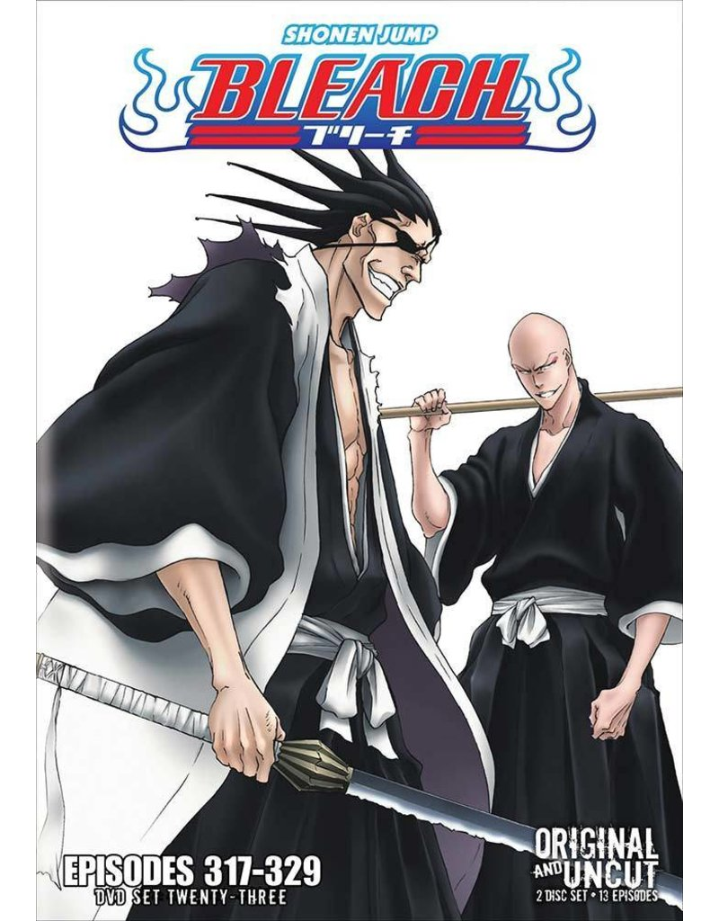Viz Media Bleach Uncut Set 23 (Eps 317-329) DVD