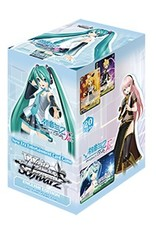 Bushiroad Project Diva Set 2 F (Full Booster Box) Weiss Schwarz