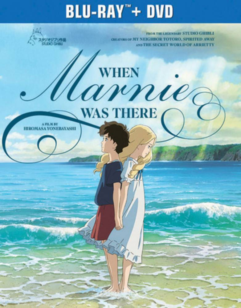 Studio Ghibli/GKids When Marnie Was There Blu-Ray/DVD