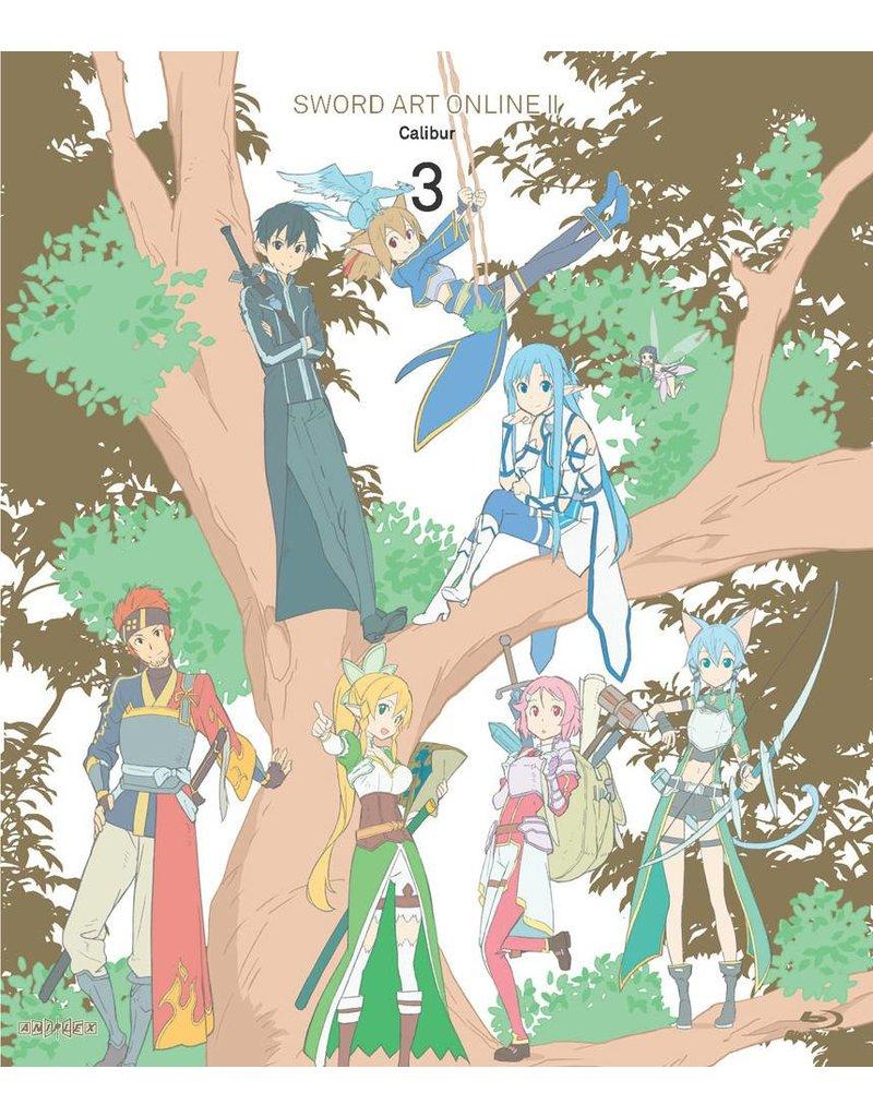 Aniplex of America Inc Sword Art Online II - Calibur (Vol. 3) Limited Edition