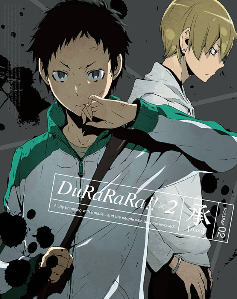 Aniplex of America Inc Durarara X2 Vol. 2 Blu-Ray