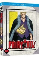 Funimation Entertainment Fairy Tail Part 18 Blu-Ray/DVD*