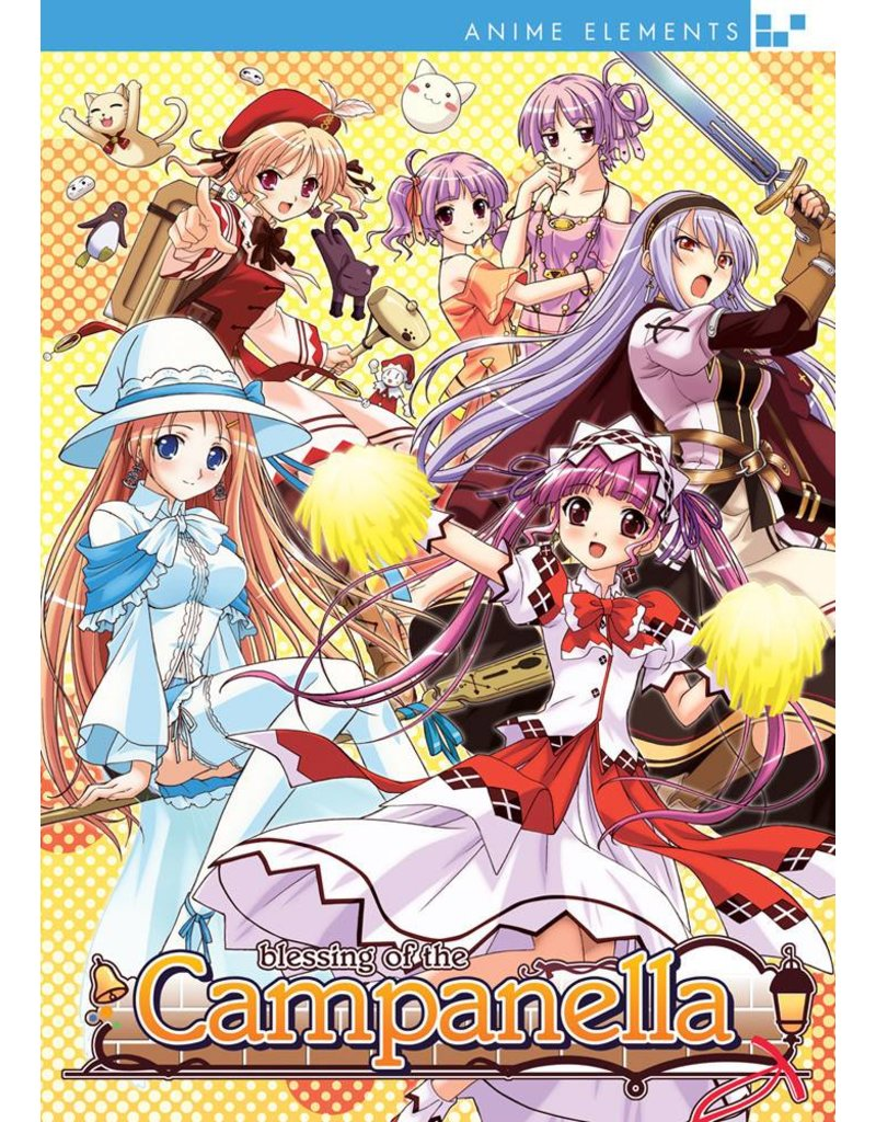 Nozomi Ent/Lucky Penny Blessing of the Campanella (Anime Elements) Complete Series DVD