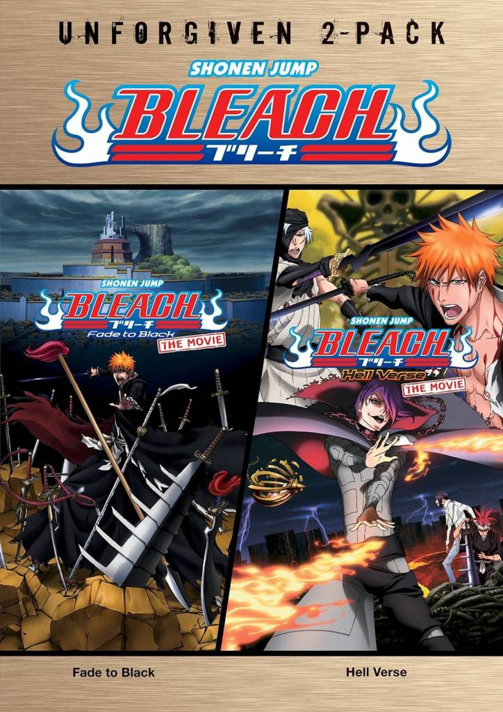 Viz Media Bleach Movies 3-4 Unforgiven 2-pack DVD