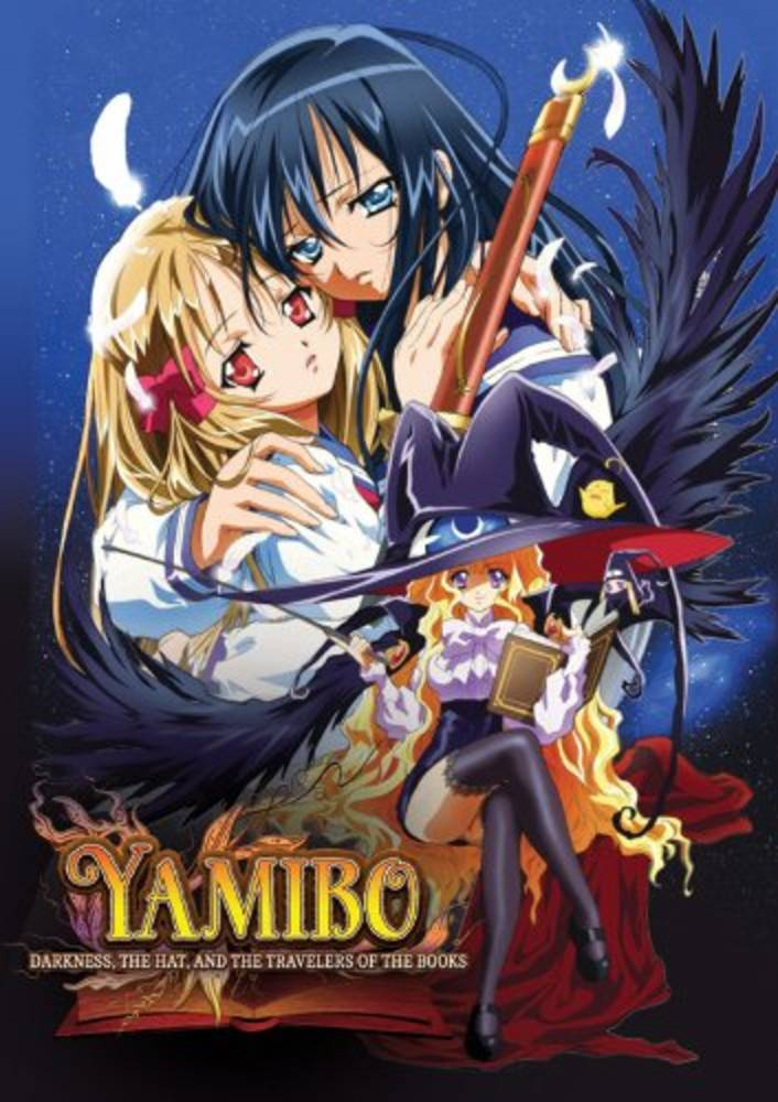 Media Blasters Yamibo: Darkness, The Hat, and Travelers of the Books DVD