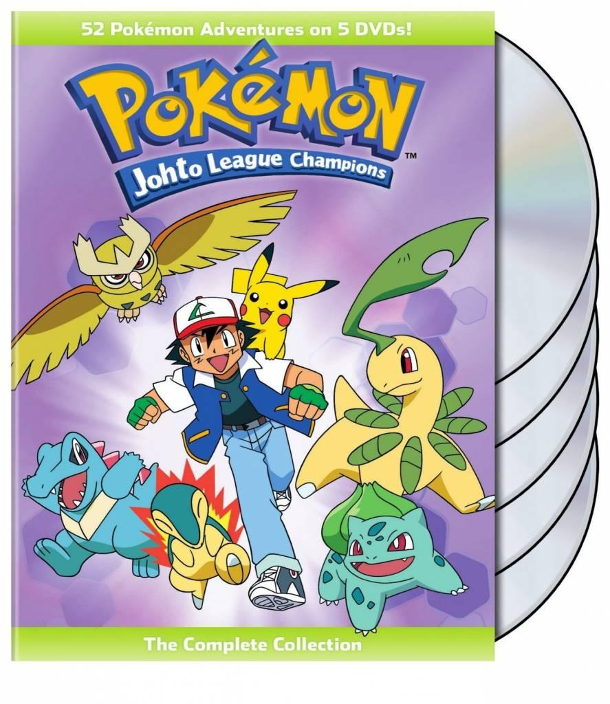 Viz Media Pokemon Johto League Champions (Season 4) DVD